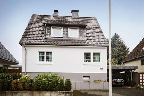 dom 1-rodzinny z kominami